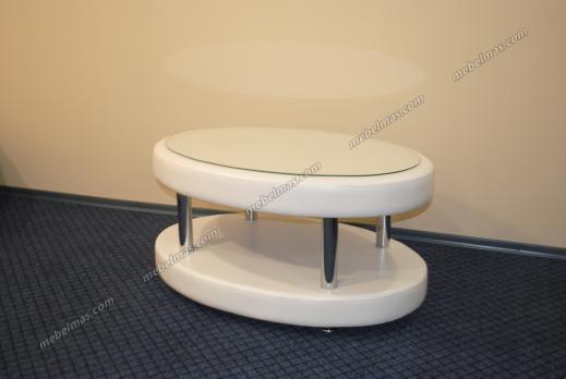 Журнальный столик Овальный двойной
