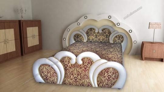Кровать с матрасом Дашенька