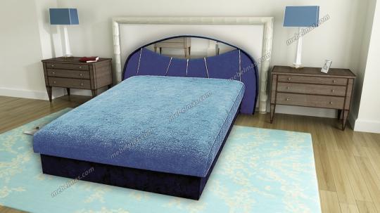 Кровать с матрасом Диана-1