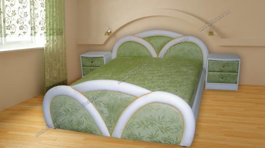 Кровать с матрасом Елена