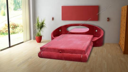 Кровать с матрасом Лилия