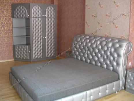 Кровать с матрасом Маргарита-2