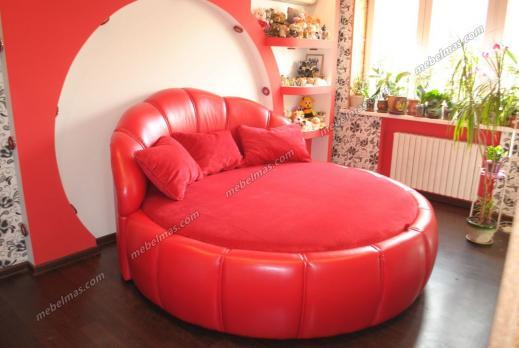 Круглая кровать Мадонна-1