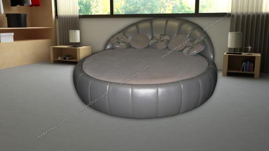 Круглая кровать Мадонна-2