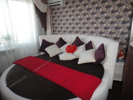 Круглая кровать Николь