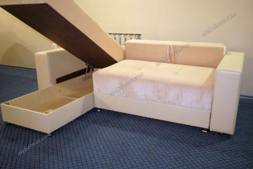 Угловой диван Визит-1-мини (люкс)